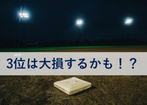 プロ野球は3位が大損??CSと日本シリーズ興行売上の球団取り分について
